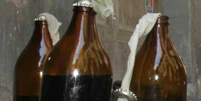 Bottiglie incendiarie, immagine di repertorio