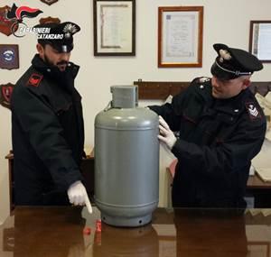 La bombola del gas