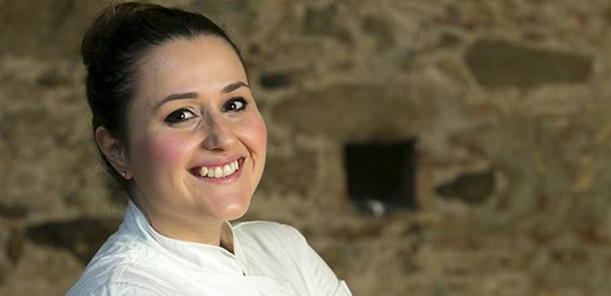 Lo chef calabrese Caterina Ceraudo