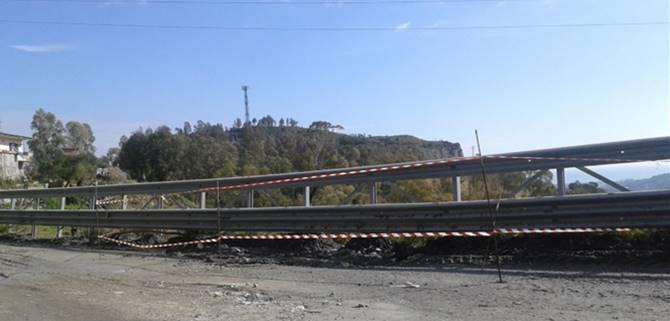 Foto delle arterie di collegamento a Caulonia