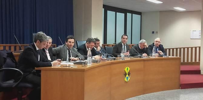 La conferenza stampa dei gruppi di opposizione in Consiglio regionale