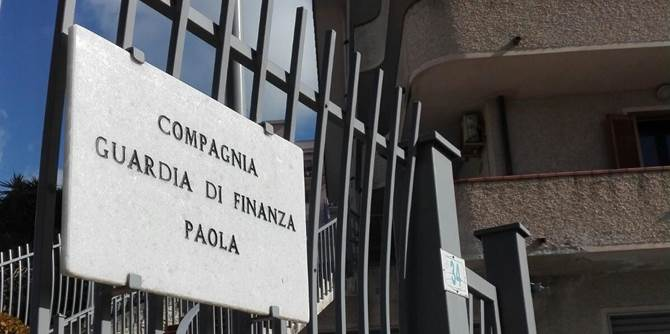 Paola, Guardia di finanza