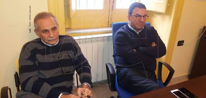 Gianfranco Leone e Antonio Gentile