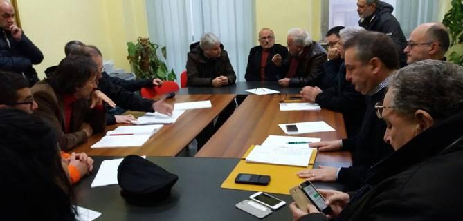 La riunione convocata dal sindaco