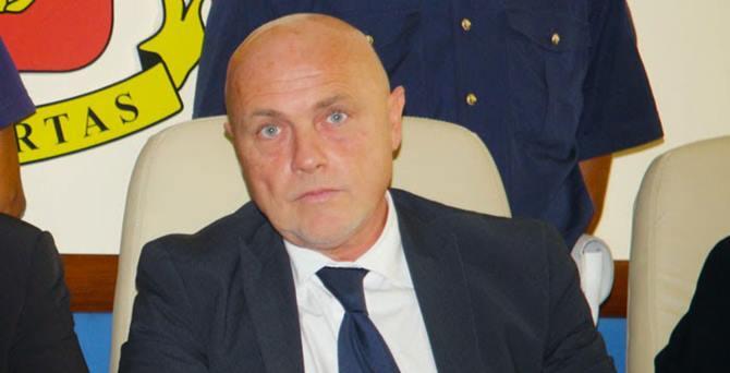 Il Questore di Reggio Raffaele Grassi