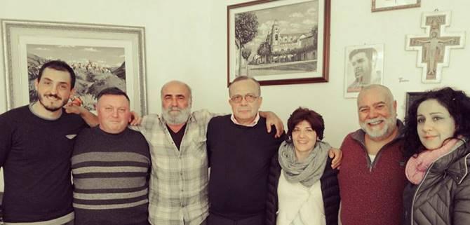 Limbadi: visita di Giovanni Impastato