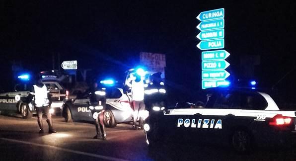 Vibo, Polizia stradale