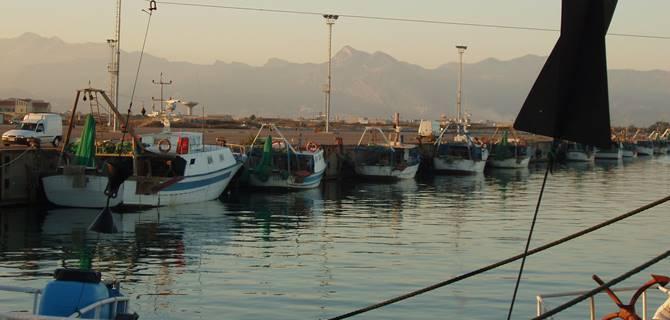 Porto di Corigliano, immagine dal web