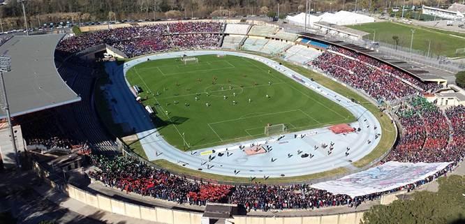 Cosenza, stadio San Vito Marulla