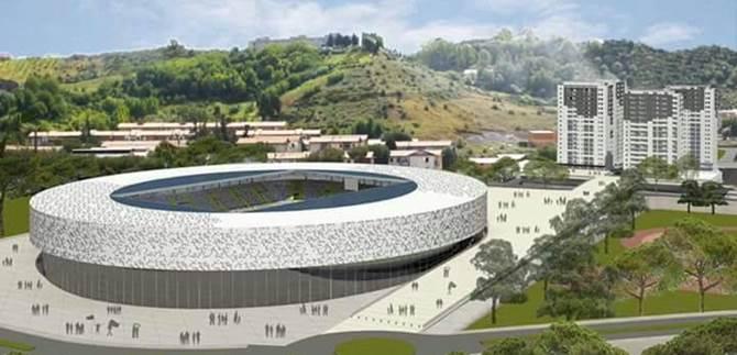 Cosenza, il progetto del nuovo stadio