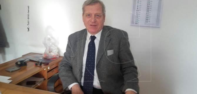 Il presidente commissione Valente