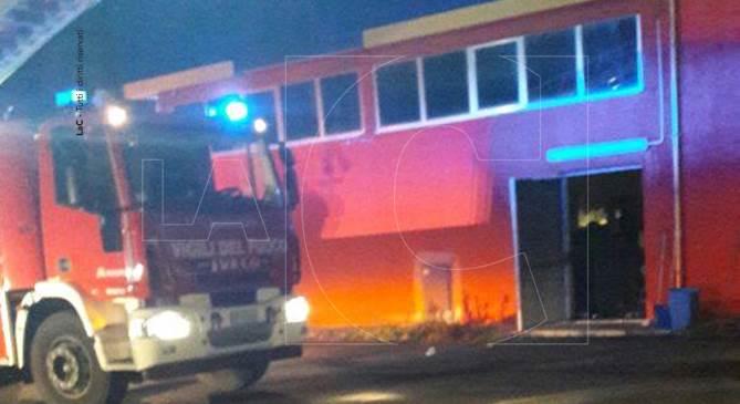 Vibo, intervento Vigili del fuoco