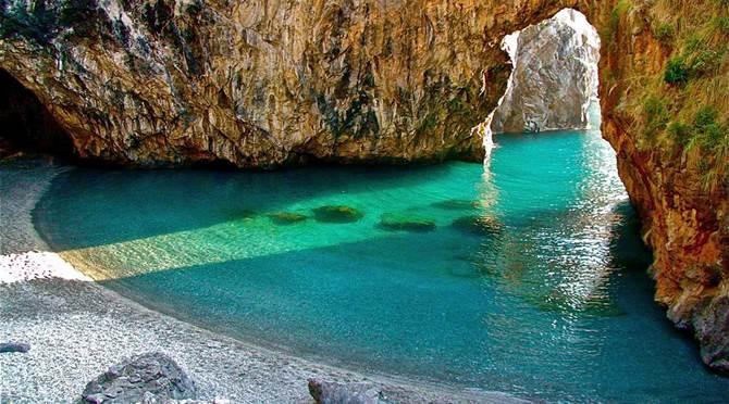 La spiaggia di San Nicola Arcella