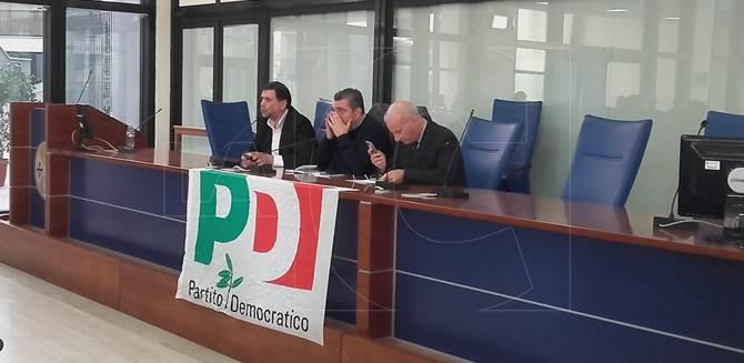 Reggio, Convenzioni Pd