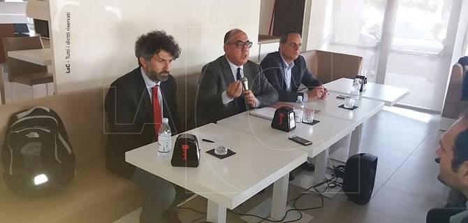 Cosenza, conferenza stampa di Guccione