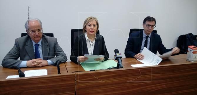 La conferenza stampa alla Cittadella regionale