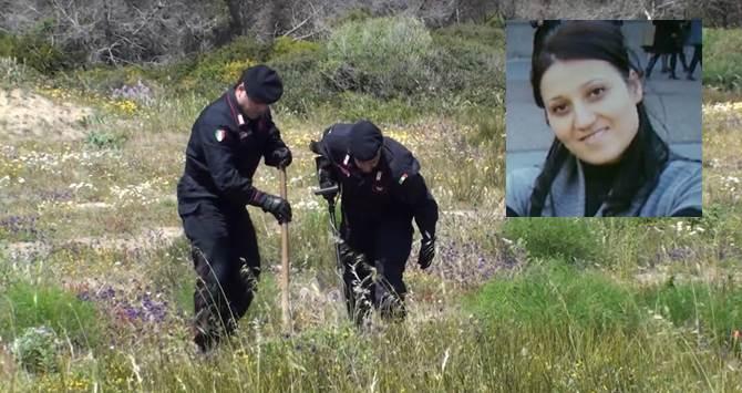 I Carabinieri alla ricerca delle armi del delitto