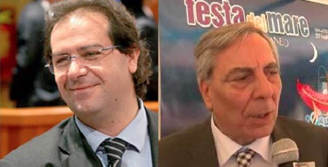 Alberto Sarra e Paolo Romeo