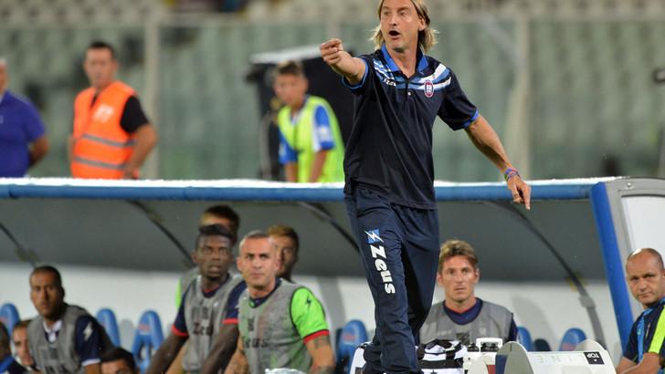 L'allenatore del Crotone, Davide Nicola