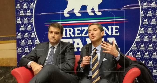 Raffaele Fitto e Luigi Muraca