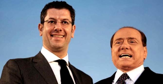 Giuseppe Scopelliti e Silvio Berlusconi