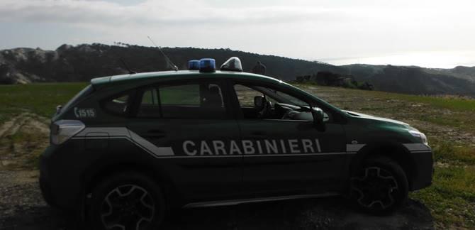 Melito di Porto Salvo, i militari nell'area sequestrata