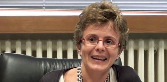 La senatrice e scienziata Elena Cattaneo