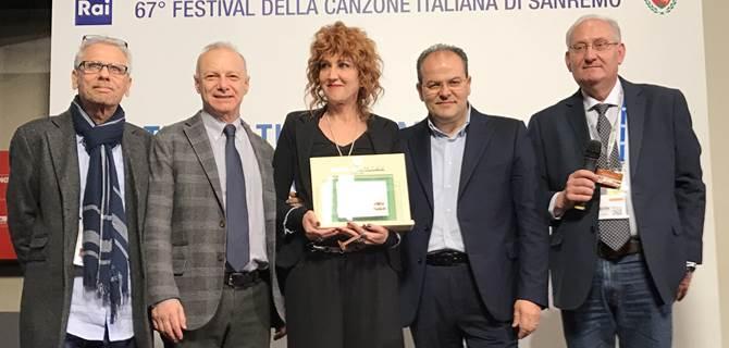 Michele Affidato con Fiorella Mannoia