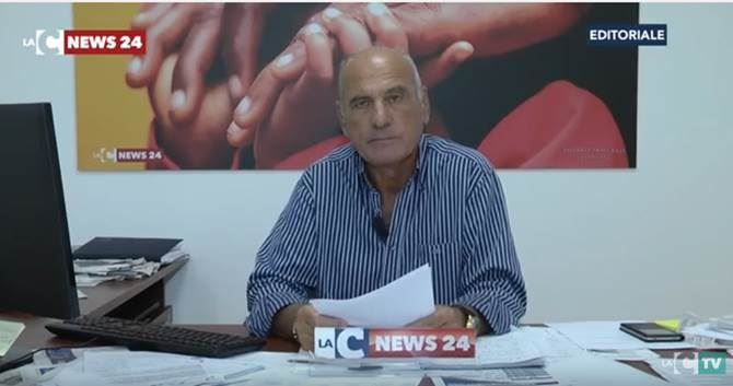 Il direttore LaC Tv, Pietro Melia