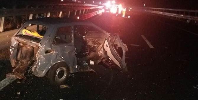 Auto coinvolta nell'incidente