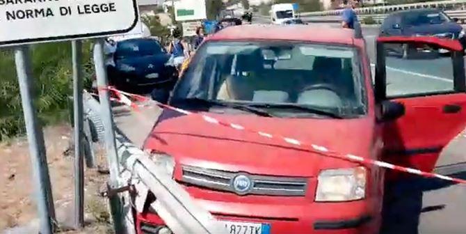 Auto sequestro a San Lorenzo
