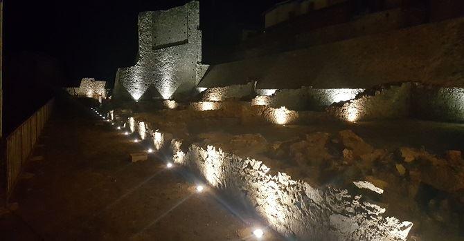Illuminazione sito archeologico