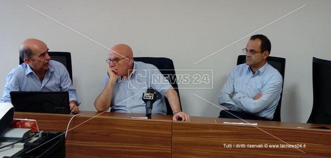 Regione. Francesco Russo, Mario Oliverio e Roberto Musmanno