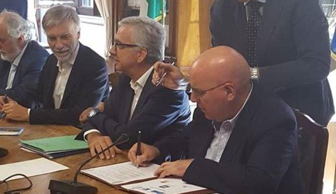 Firma del protocollo