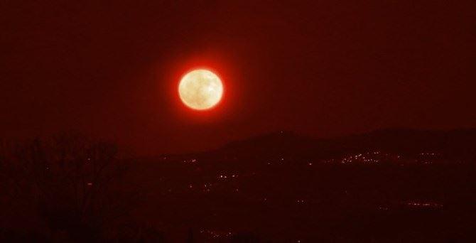 La superluna sul Vibonese