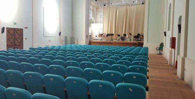 L'auditorium di Vibo