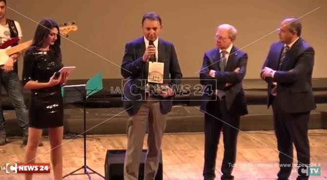 La premiazione a Cosenza