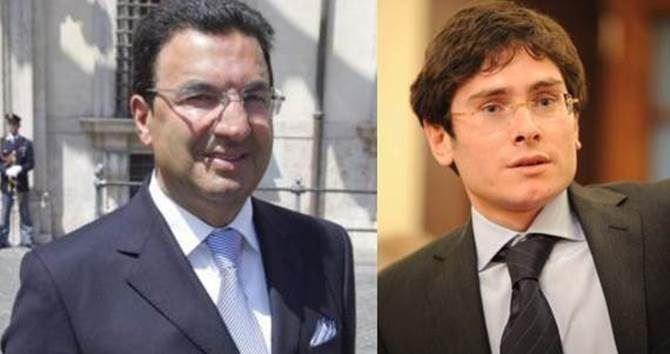 Tonino Gentile e Stefano Luciano