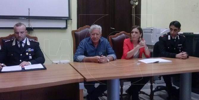 La conferenza stampa a Vibo Valentia
