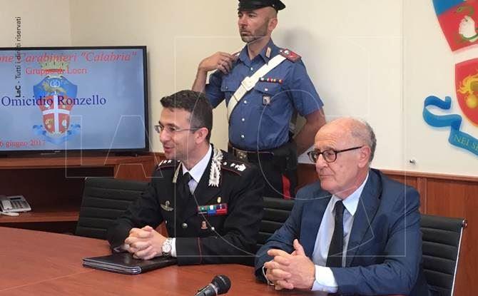 La conferenza stampa a Locri (foto di Ilario Balì)