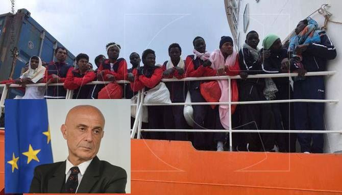 Migranti, interviene Marco Minniti