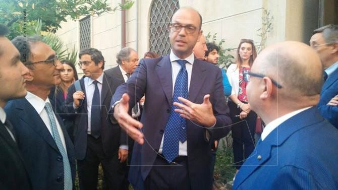Catanzaro, il ministro Alfano