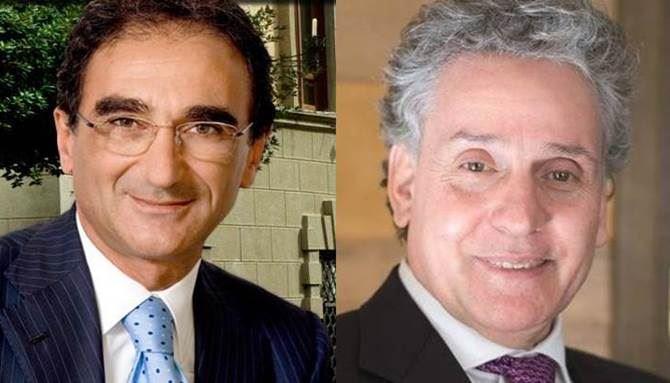 Sergio Abramo ed Enzo Ciconte