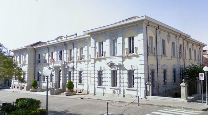 Il Municipio di Palmi
