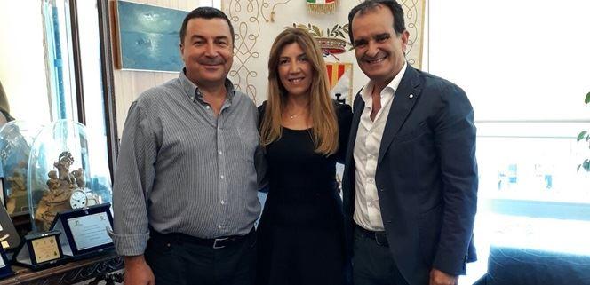 Marziale Battaglia, Amelia Borganzone e Enzo Bruno