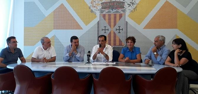 Conferenza stampa alla Provincia