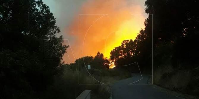 Incendio nel Catanzarese