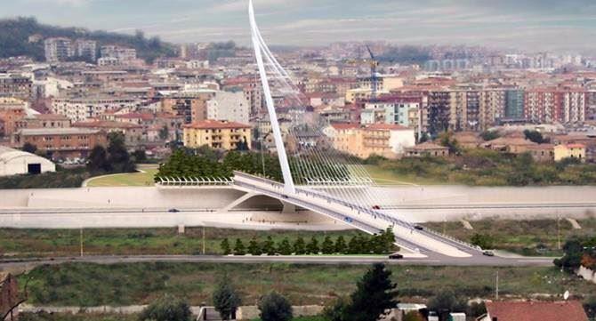 Cosenza, progetto del ponte
