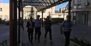 Ispezione dei Vigili all'ospedale Pugliese di Catanzaro