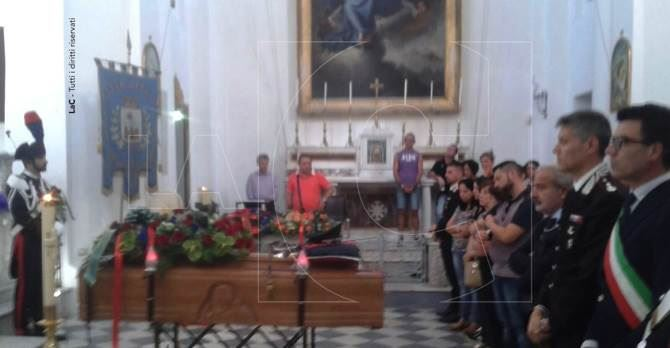 Pizzo, i funerali del maresciallo Fiorello